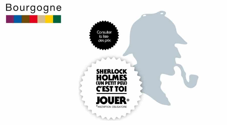 Bourgogne Sherlock holmes