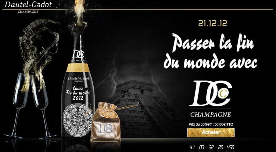 champagne fin du monde