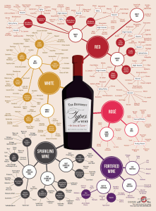 Differents types de vins