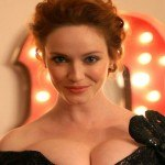 Christina Hendricks pour Johnnie Walker