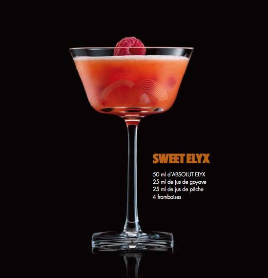 Cocktail Absolut Elyx 2
