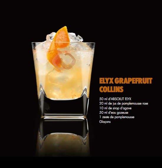 Cocktail Absolut Elyx 3