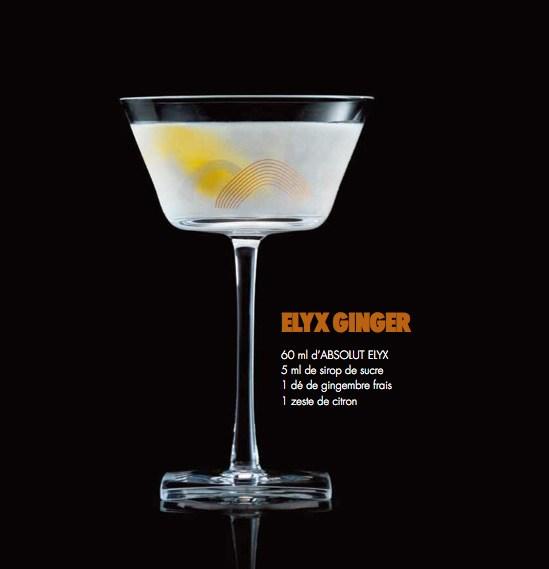 Cocktail Absolut Elyx 4