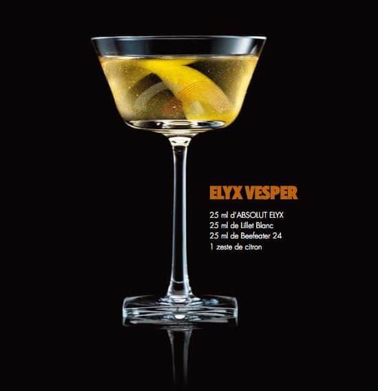 Cocktail Absolut Elyx 5