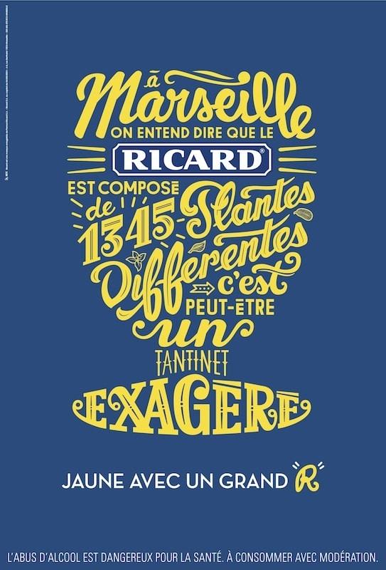 campagne Ricard Jaune