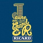 Nouvelle campagne Ricard Jaune avec un grand R