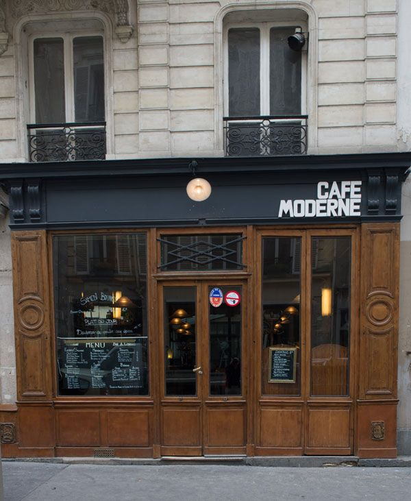 Le Café Moderne, Paris. Photo by Christophe Guibbaud