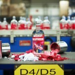 ABSOLUT Flavours redesign - PRODUCTION - RASPBERRI - ForGeorges