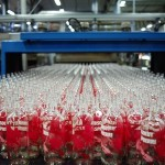 ABSOLUT Flavours redesign - PRODUCTION - RASPBERRI bottles out of oven - ForGeorges