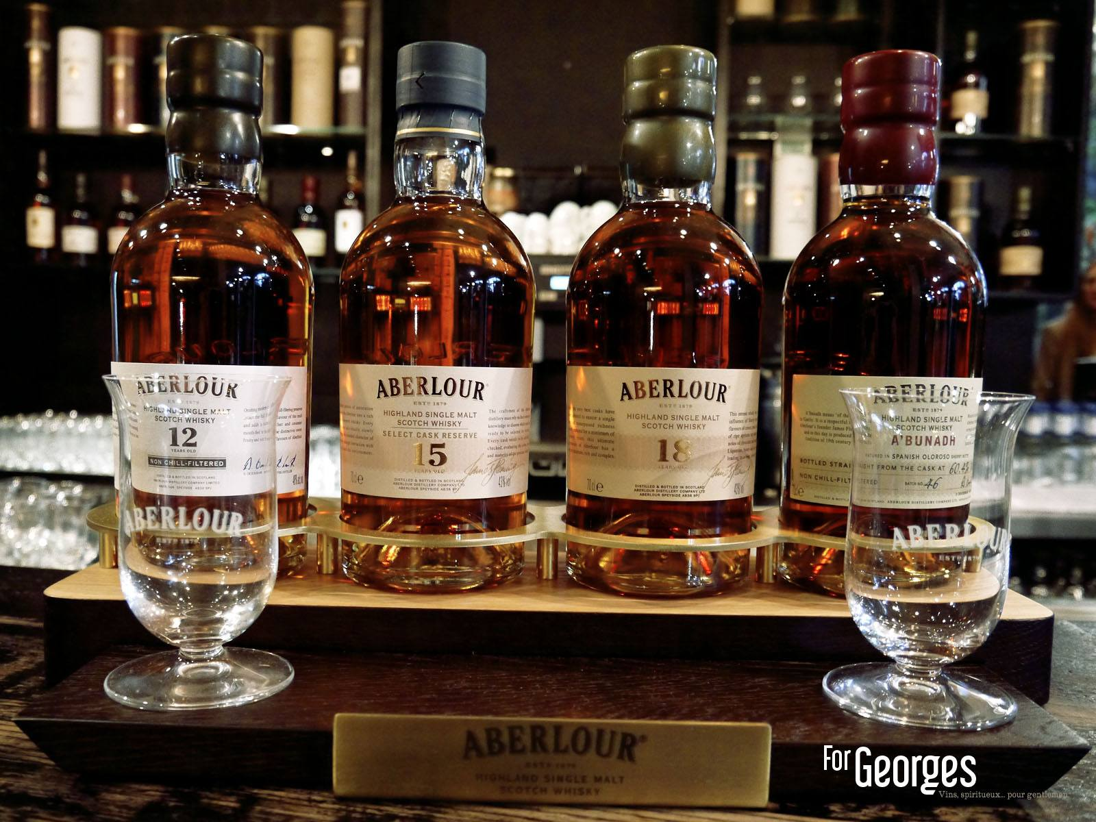 Aberlour Signature - Coffret 2013 - ForGeorges
