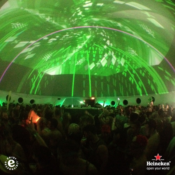 Heineken CrackThe US OPEN