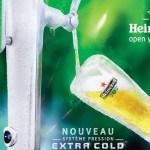 Nouvelle colonne Extra Cold Heineken