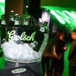 Grolsch swing at the top