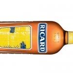 Nouvelle bouteille Ricard par Guillaume Leblon