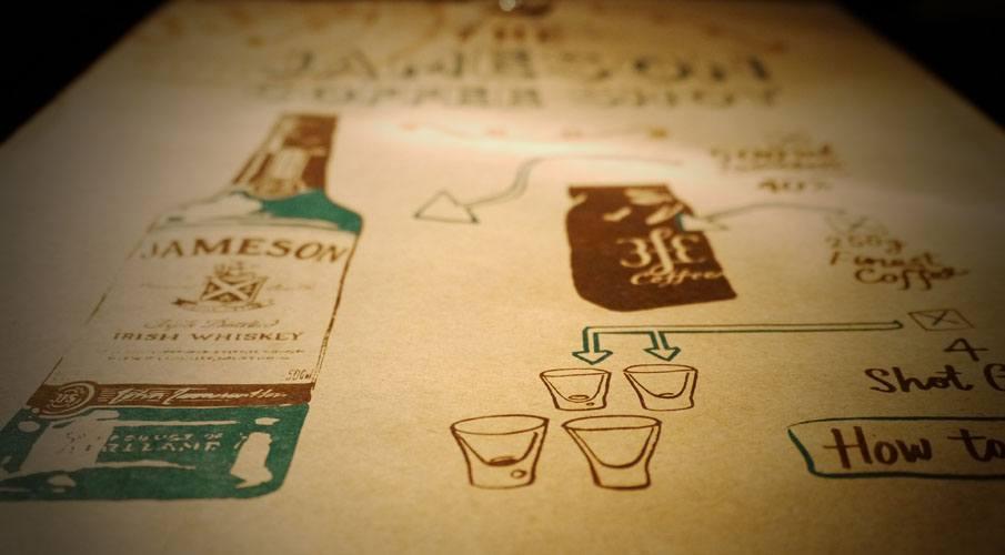 Jameson coffee Shot