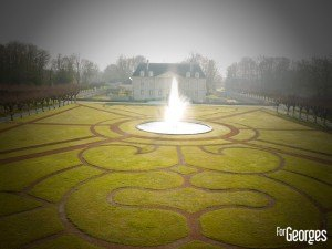Laurent-Perrier Champagne - Chateau de Louvois jardin le Notre - ForGeorges