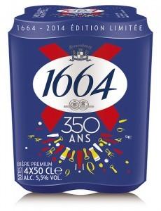 1664 350 ans