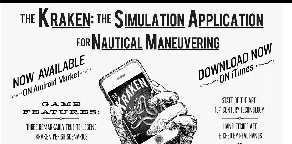 Kraken Rhum Smartphone Application