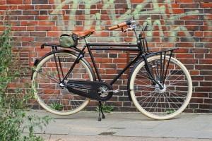Omer bière vélo noir