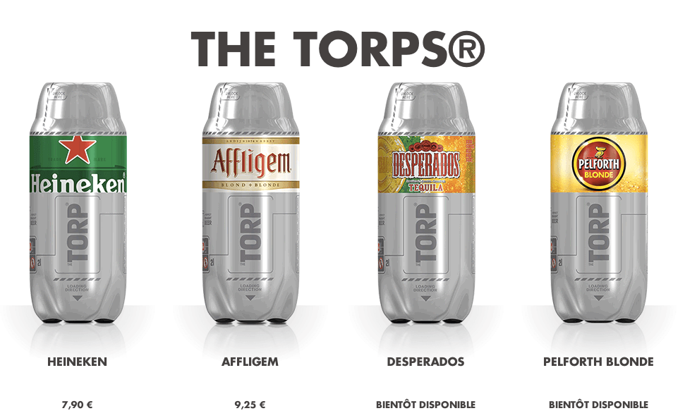 Les torps du Sub Heineken
