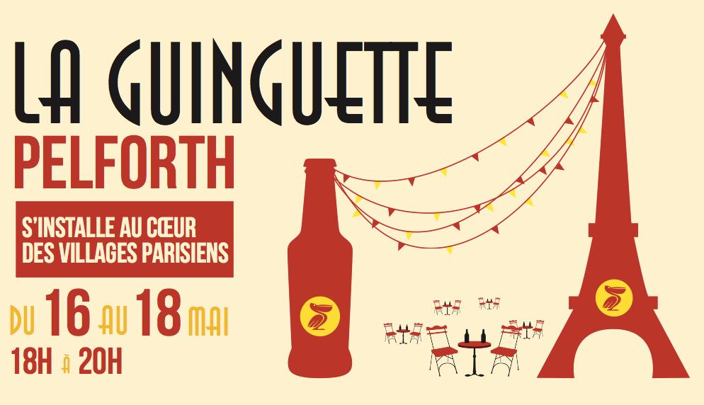 Pelforth bière Guinguette Paris