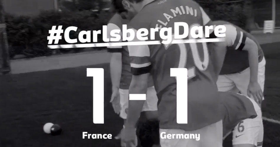 Carlsberg Dare Arsenal