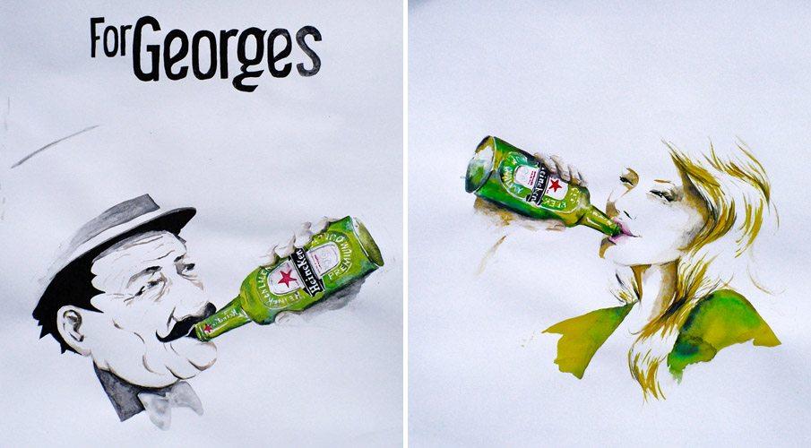 Illustration Heineken