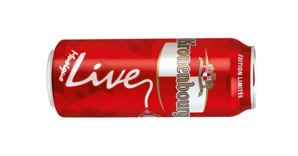 Kronenbourg Live Edition Limitee