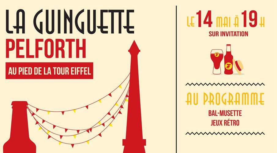 Pelforth Guinguette Tour Eiffel