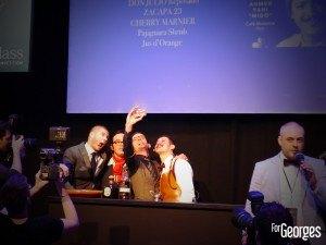 MHD Worldclass 2014 paris Tour Eiffel - Selfi barmen