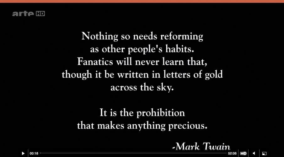 Prohibition Arte