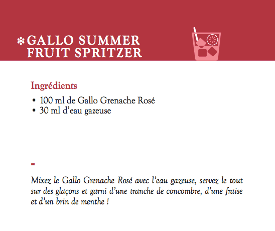 Galo Family cocktail