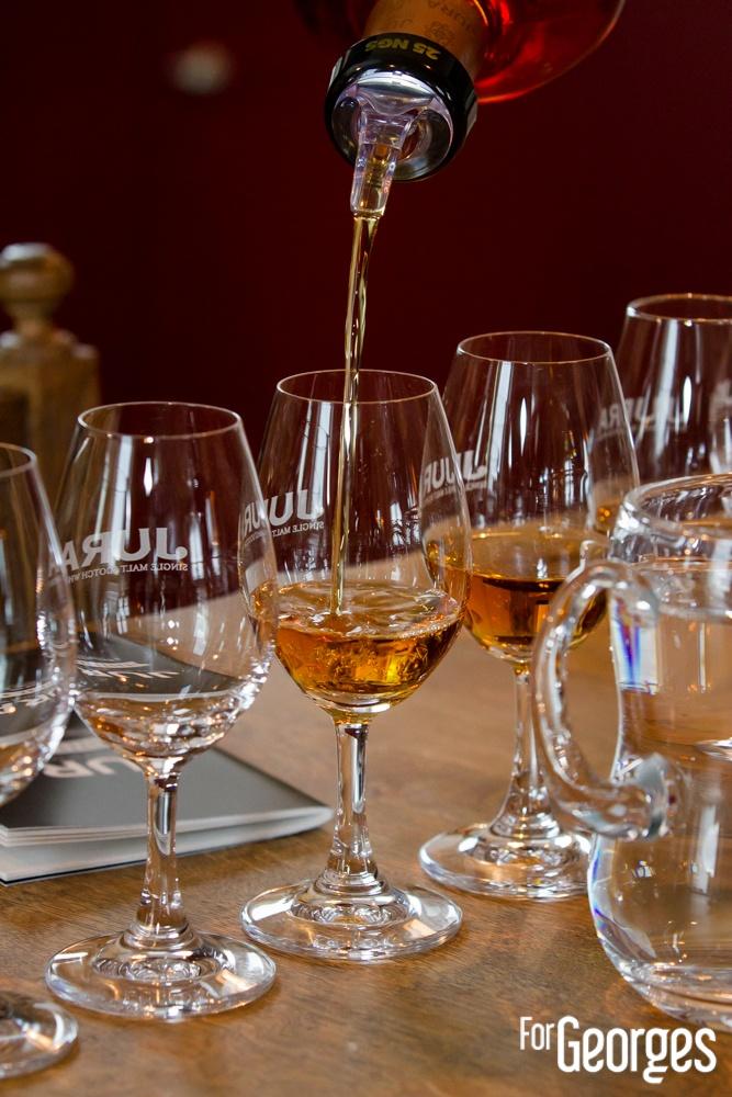 Jura Whisky distillerie