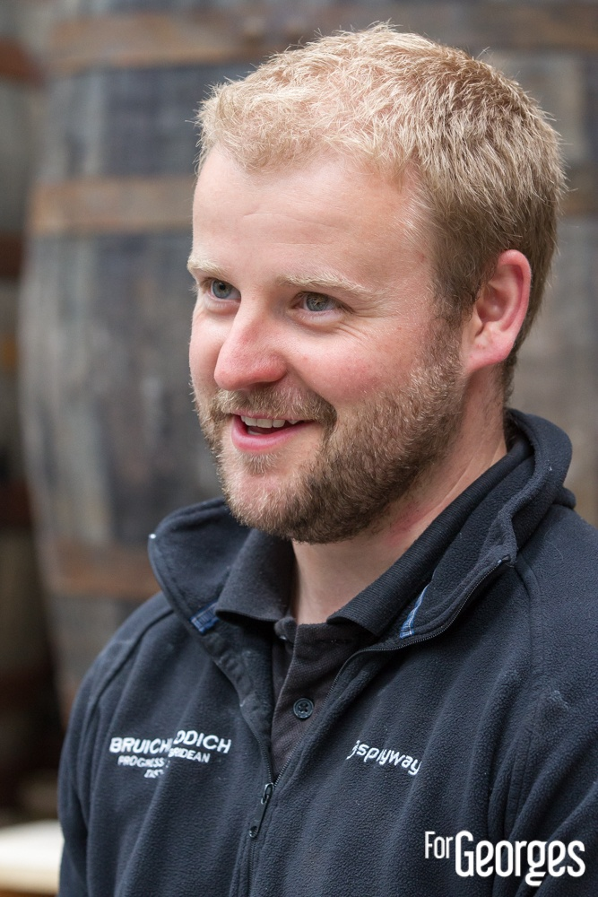 Bruichladdich distillerie Islay Adam Hannett