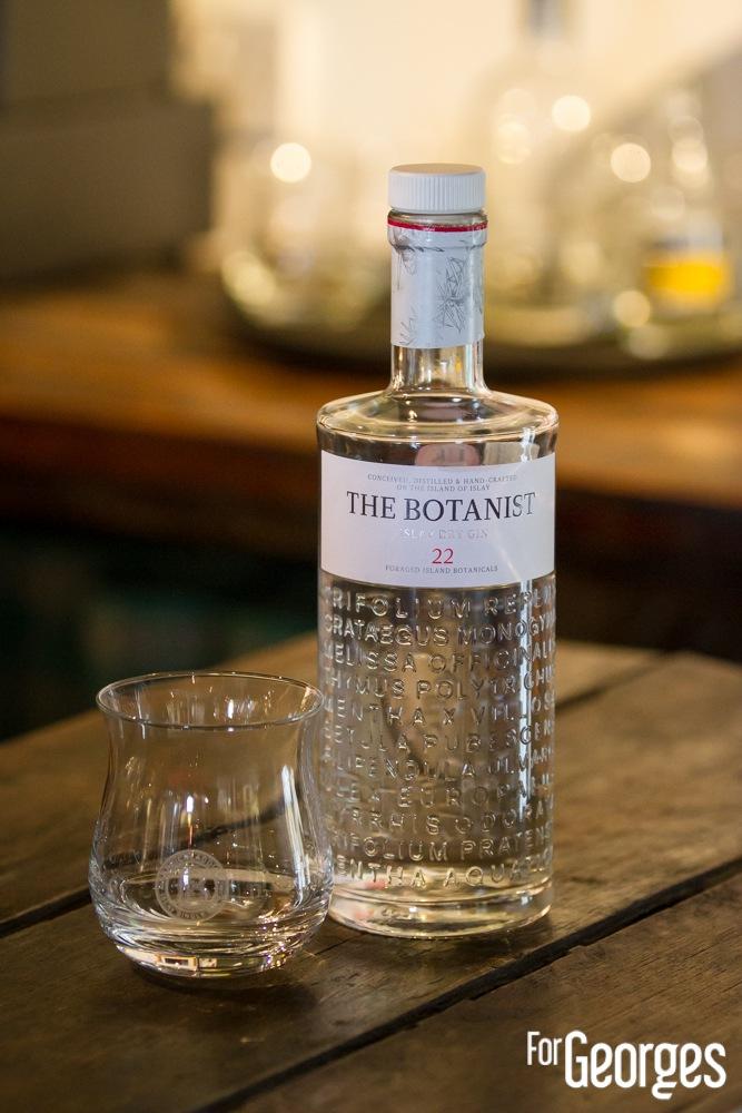 Bruichladdich distillerie Islay The Botanist
