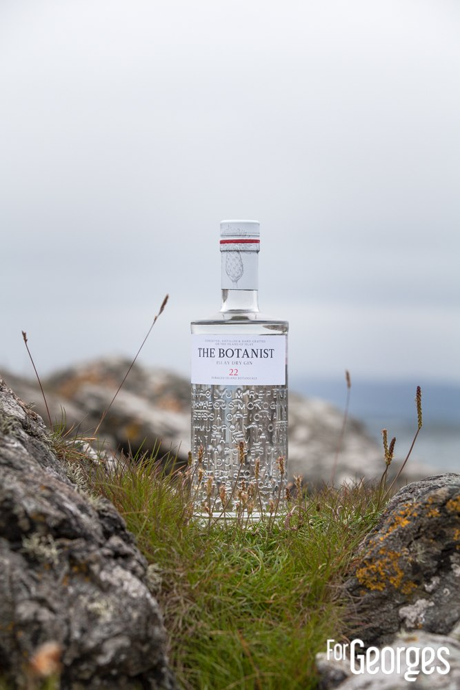 Bruichladdich distillerie Islay The Botanist Gin