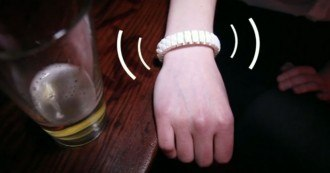 Bracelet Alcool