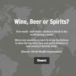 Carte interactive des alcools