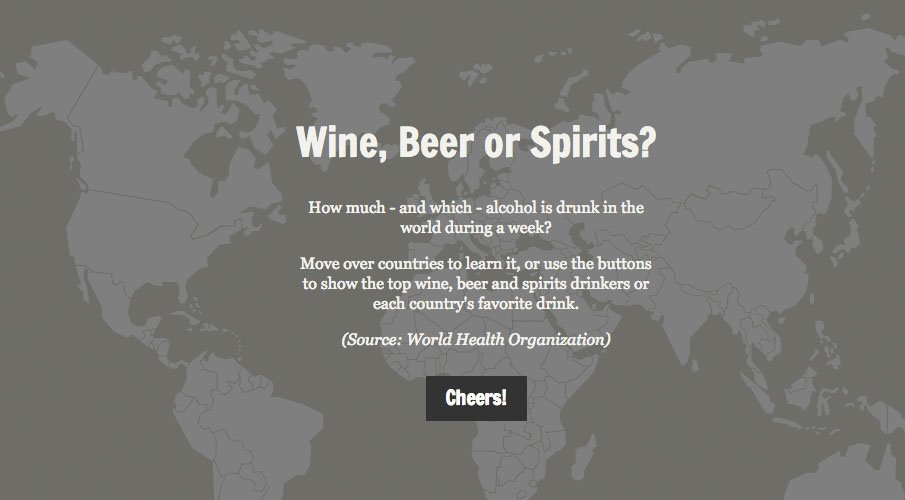 carte Interactive Alcool
