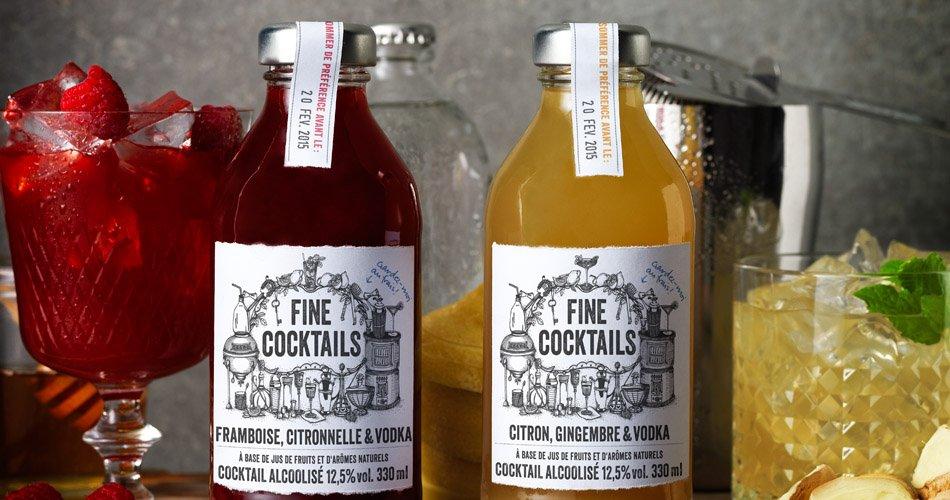 Fine Cocktails bouteille