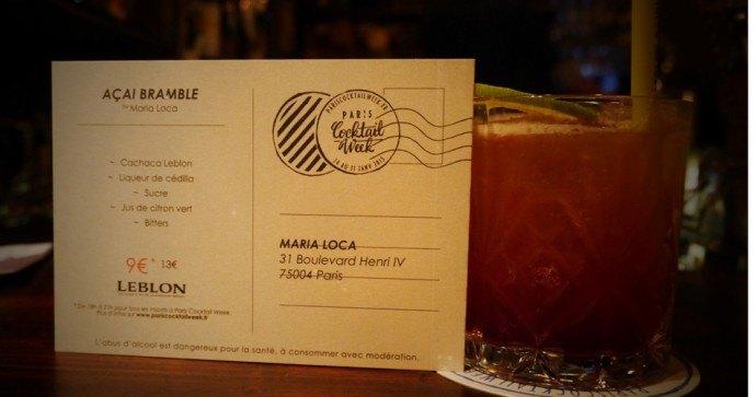 Maria Loca Paris Cocktail Week