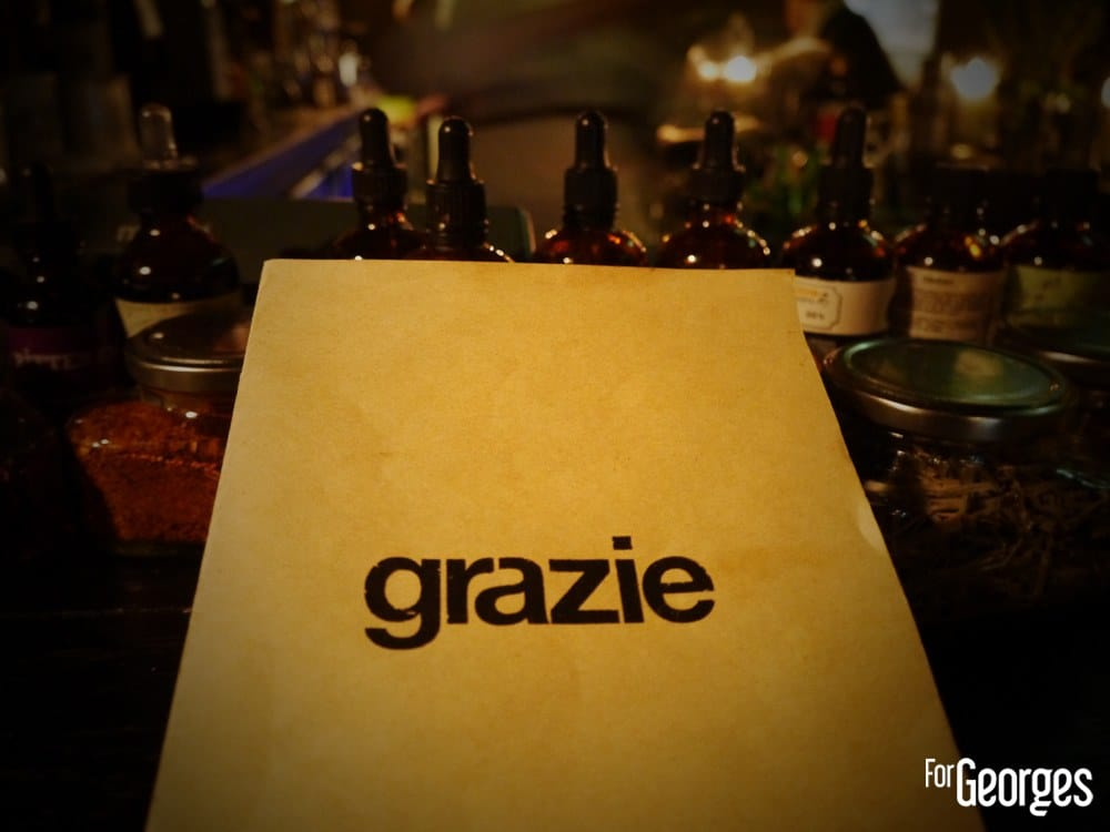 Grazie cocktail Bar Paris Cocktail Week