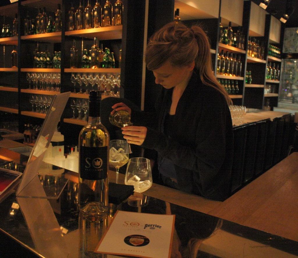 Amanda Boucher, bartender au Pas de Loup