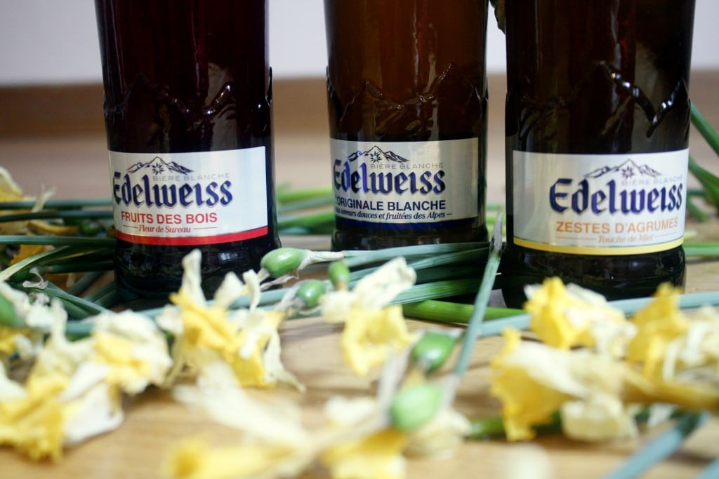 Edelweiss, trois bières blanches