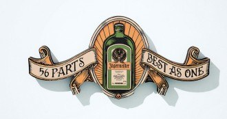Jagermeister illustration