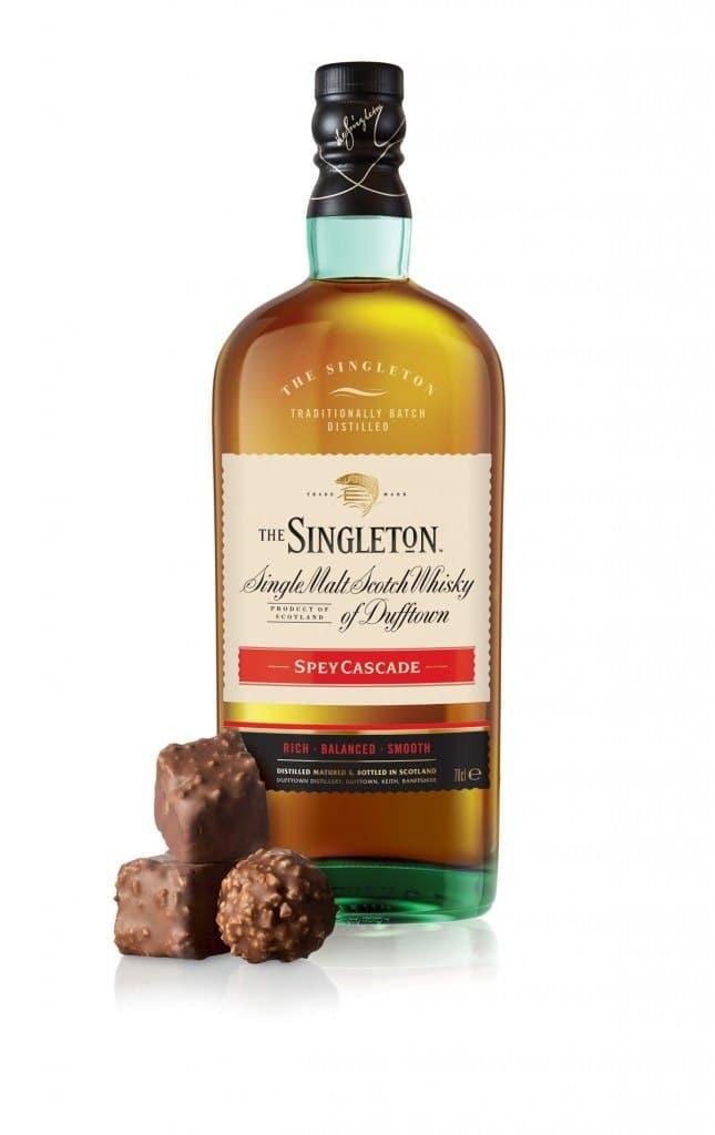 Bouteille The Singleton Spey Cascade et rocher