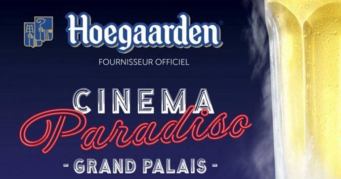 Hoegaarden et cinema paradisio