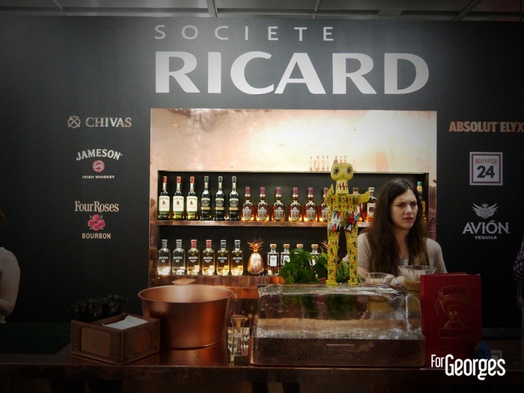 Cocktails spirits Paris 2015 Societe Ricard