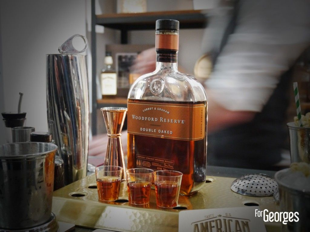 Cocktails spirits Paris 2015 Woodford Reserve