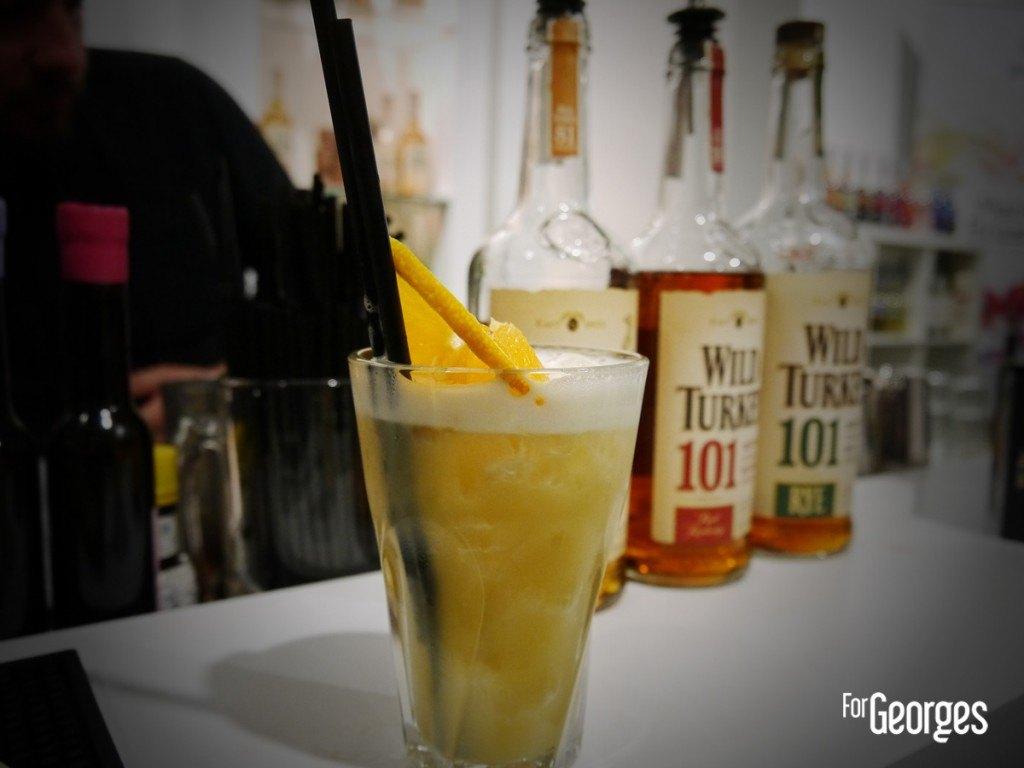 Cocktails spirits Paris 2015 Wild turkey